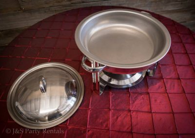 4qt Stainless Steel Round Chafer 2