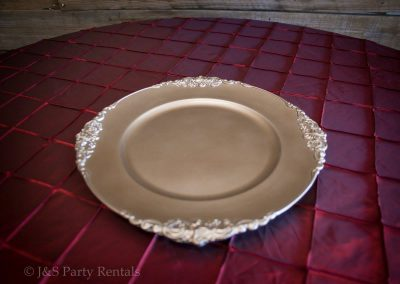 Champagne Plate Charger