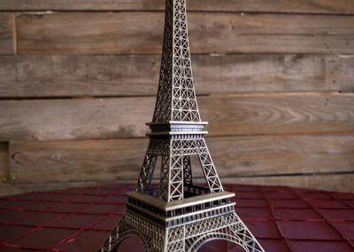 "Bronze Eiffel Tower 15"" x 6"""
