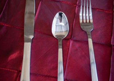 Polish Stainless Steel Silverware