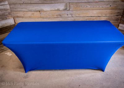 Rectangular Spandex Tablecloth (call for colors availability)