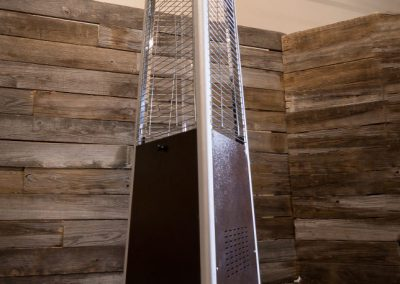 Pyramid Patio Heater | 176sq.ft Provides up to 35, 000 BTU's