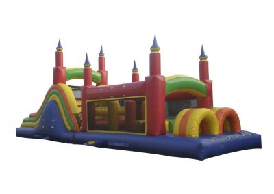 Obstacle Bounce House 40x11'6x15'6