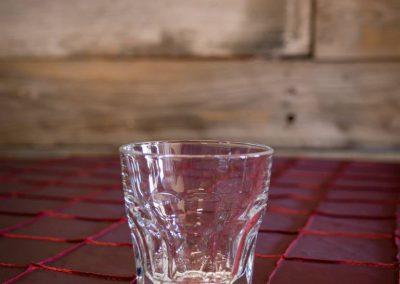 8oz Double Rock Glass