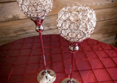 Crystal Candle Lantern Holders