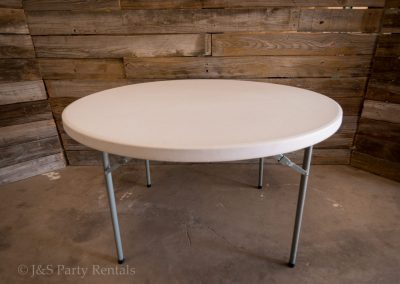 "48"" Round Table 48"" x 29"" H - Seats up to 6"