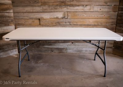 "8ft Rectangular Table 96""L x 30""W x 29""H"