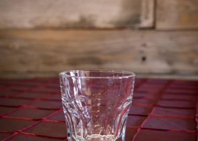 8oz Double Rock Glass