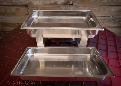 8qt Stainless Steel Rectangular Chafer