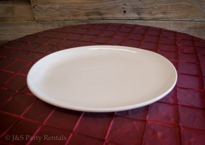 Oval Serving Platter 19x12.5 in