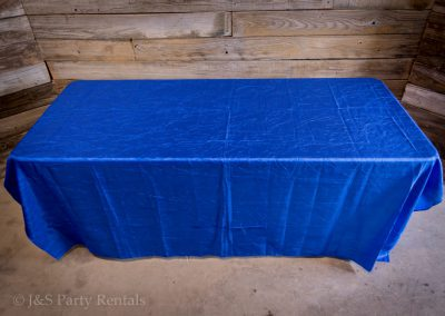 Crush tafetta tablecloth