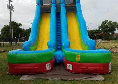 Double Side Water Slide 30x15x24