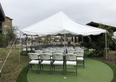 Standard Open Tent 20x20